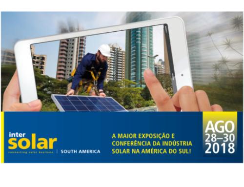Intersolar 2018 está recheada de novidades para os amantes da energia fotovoltáica